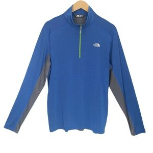 The North Face 1/4 Zip Up Long Sleeve Top